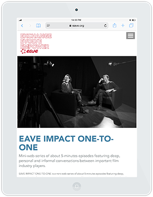 Web design and development for EAVE